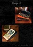 画像6: プルームテックケース 本場英国プルアップレザー 本革 Ploom TECH ケース たばこカプセル カートリッジ 充電器 全部収納可 ラウンドファスナー ハンドメイド 牛革