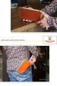 画像7: 長財布 財布 メンズ レディース 栃木レザー 本革 牛革 レザー ラウンドファスナー ロングウォレット